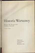 Historia Warszawy cz.1 do roku 1864